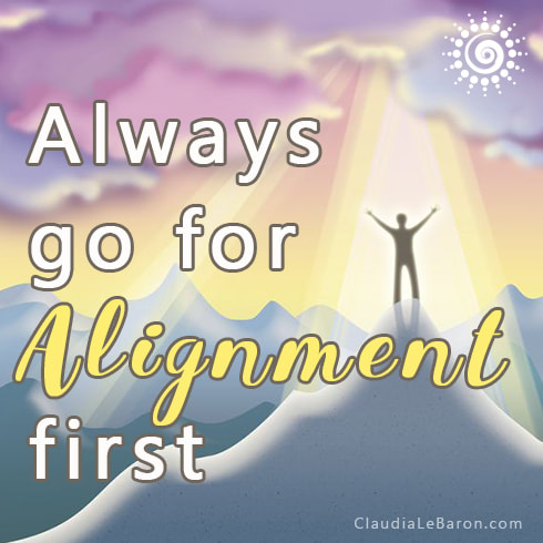 Life's so much better when you're in alignment. You might be wondering how is it that you get in alignment? Or, what exactly means to be aligned? Keep reading.