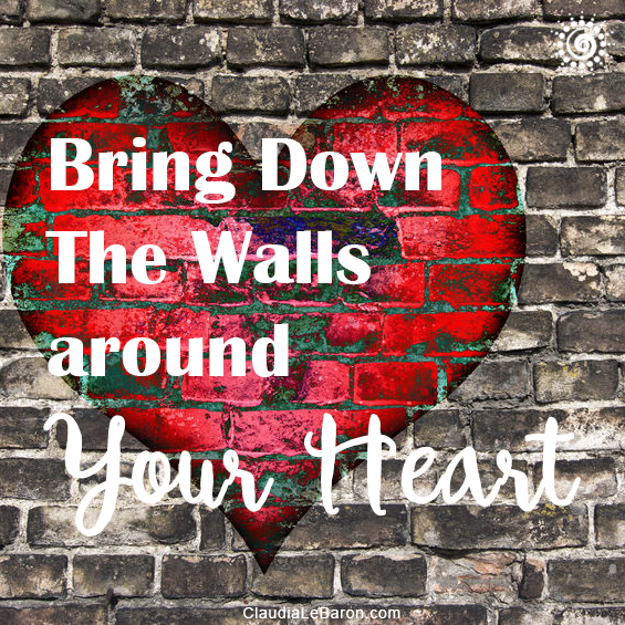 Imagine that every time your heart has been broken you placed an energetic wall around it to protect it from feeling hurt again. This means that by now you should have a very thick wall preventing you from feeling negative and positive emotions alike. That must definitely not let you enjoy life. Bring it down then! Learn how…
