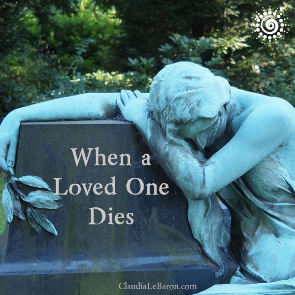 When a loved one dies you feel as if part of you has been frozen and then shattered into pieces that will never be again. Learn how to live with what's left.